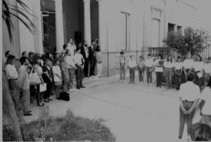 Acto de apertura del Nivel Secundario - 09-03-1992