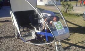 Tricicleta eléctrica de uso urbano del Instituto Leonardo Da Vinci