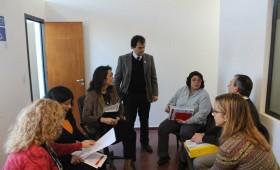 Reunión en el área de Discapacidad de la Sec. de Des. Social