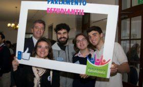 El Da Vinci en el Parlamento Estudiantil